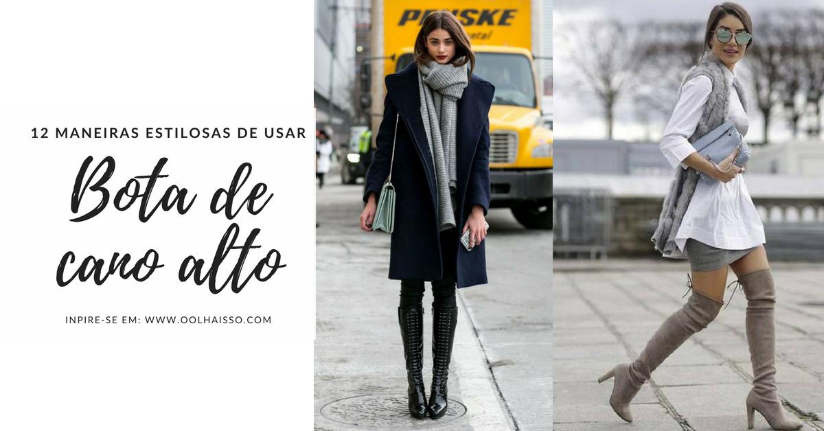 ce0f8f1363 Como usar bota de cano alto? 12 looks de inverno pra te inspirar | Tallita  Lisboa Blog