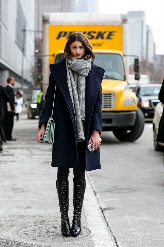 762c09974 Como usar bota de cano alto  12 looks de inverno pra te inspirar ...