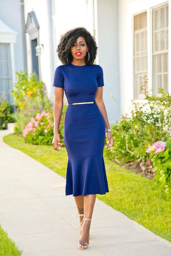 60b6c4ce4d Azul Marinho: a cor super curinga e chique para os seus looks ...
