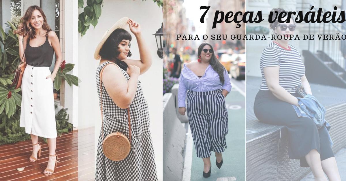 18fbc9371 Guarda-roupa de verão  7 peças que te ajudam a compor vários looks ...