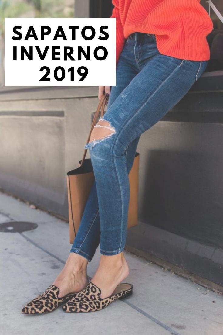 e721b7be6 5 Sapatos inverno 2019  tendências outono inverno em calçados ...